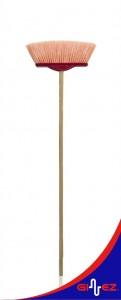 Veneciana con bastón cepillo piso